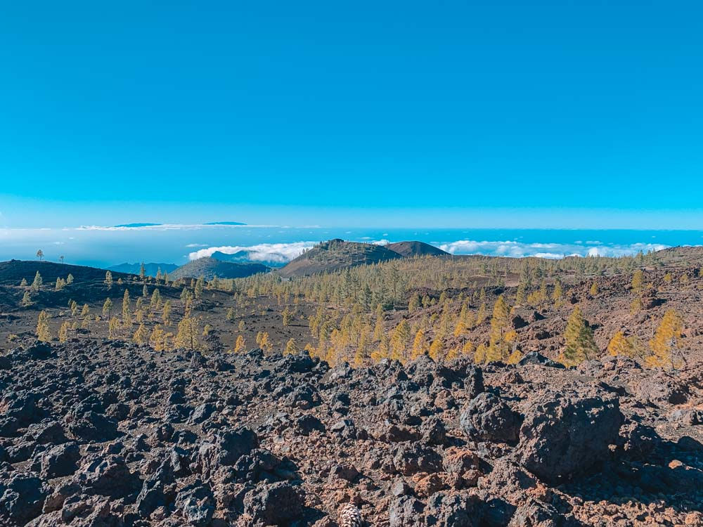 The distinctive views of the Samara hike