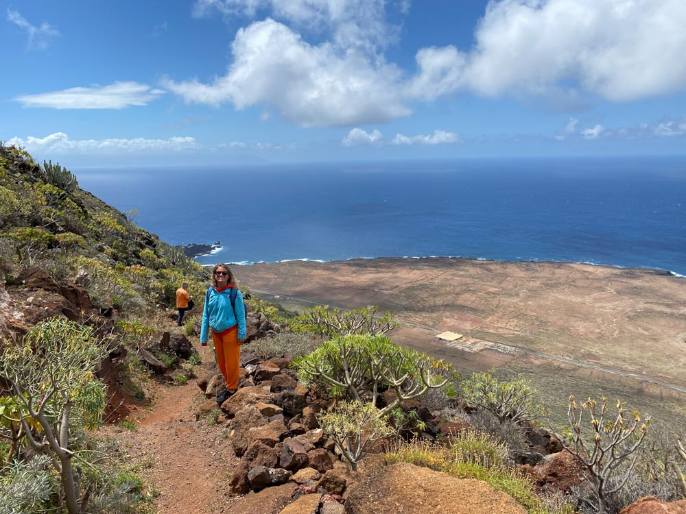 Hiking the Punta de Teno trail in Tenerife