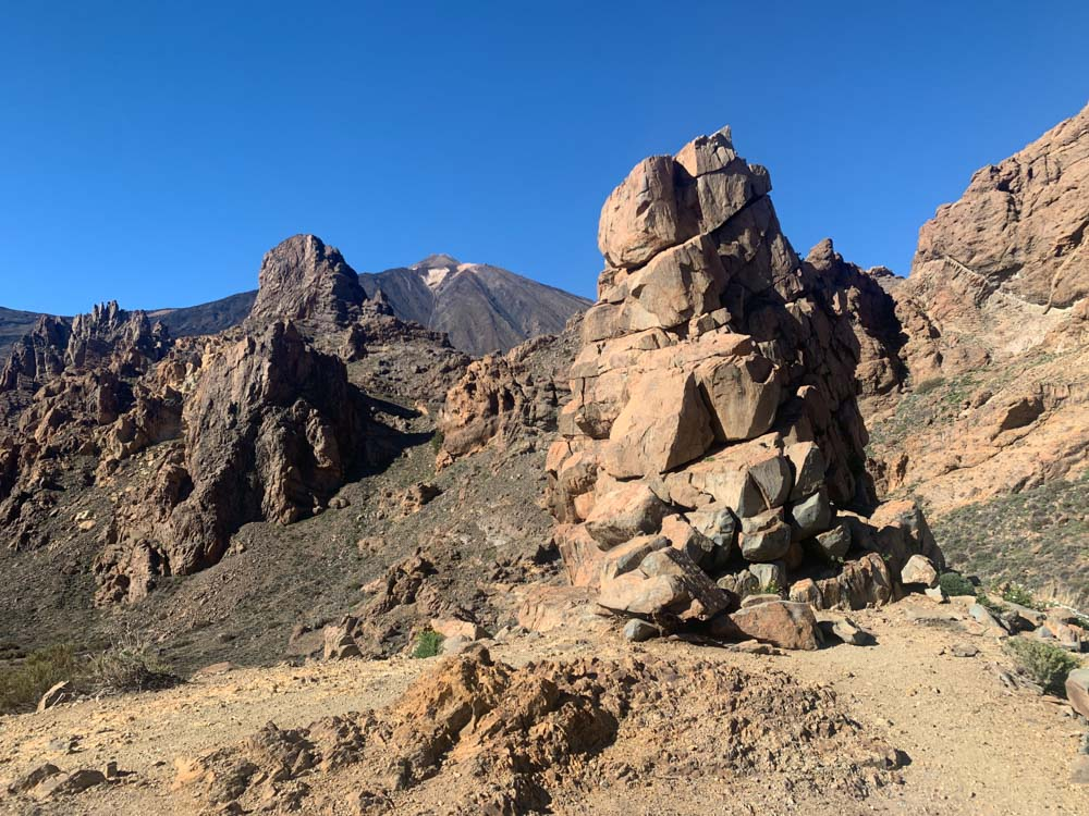 The incredible rocky landscapes of Teide National Park