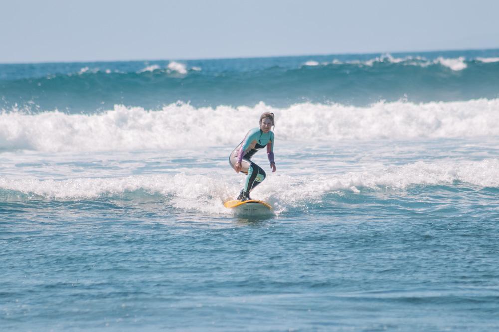 Me surfing in Las Americas, Tenerife