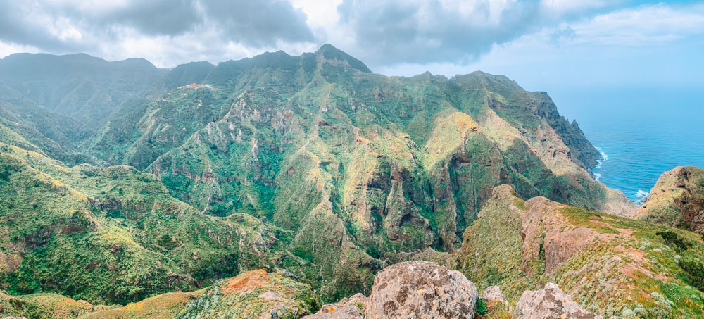 Some of the epic views that you can see while hiking Roque de Taborno in Tenerife