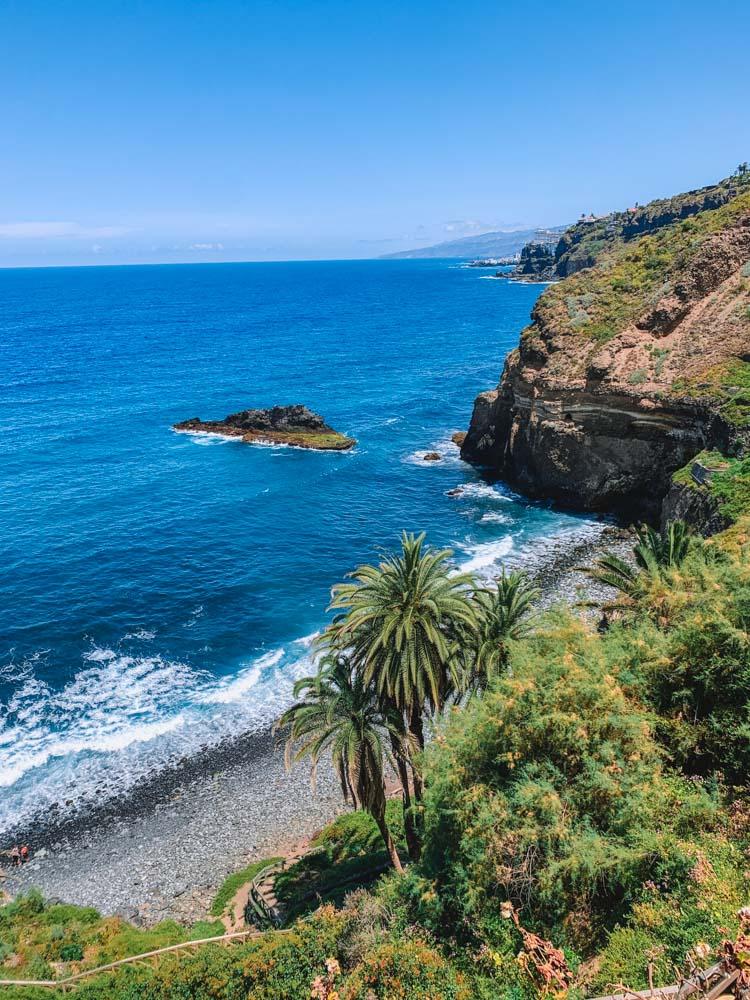 Playa de Castro seen from the Rambla de Castro trail