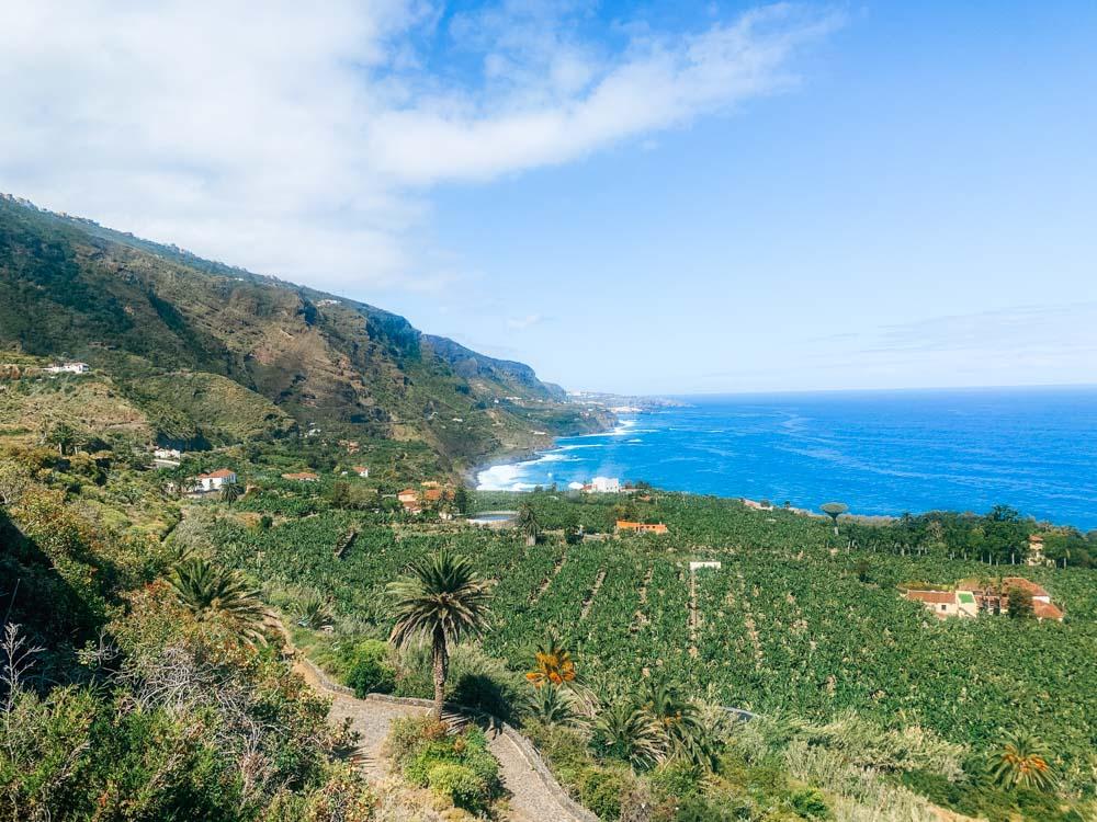 Views over Rambla de Castro from Mirador San Pedro, Tenerife