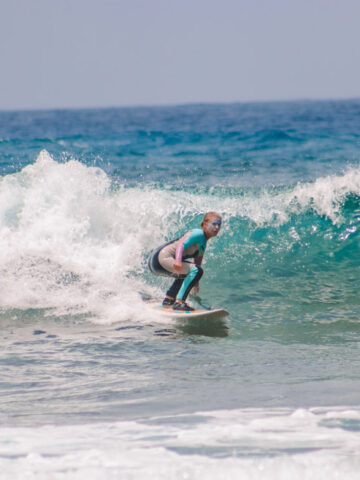Me surfing in Fitenia, Tenerife