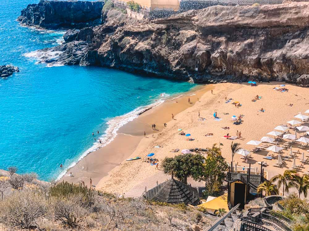 Abama Beach in Tenerife