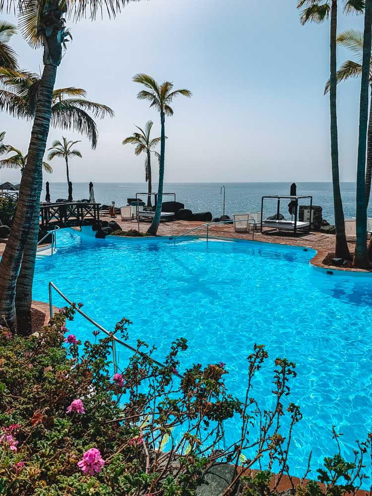 Las Rocas Beach Club in Costa Adeje, Tenerife