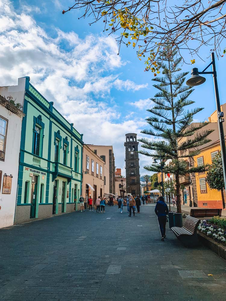 The historical city centre of La Laguna in Tenerife