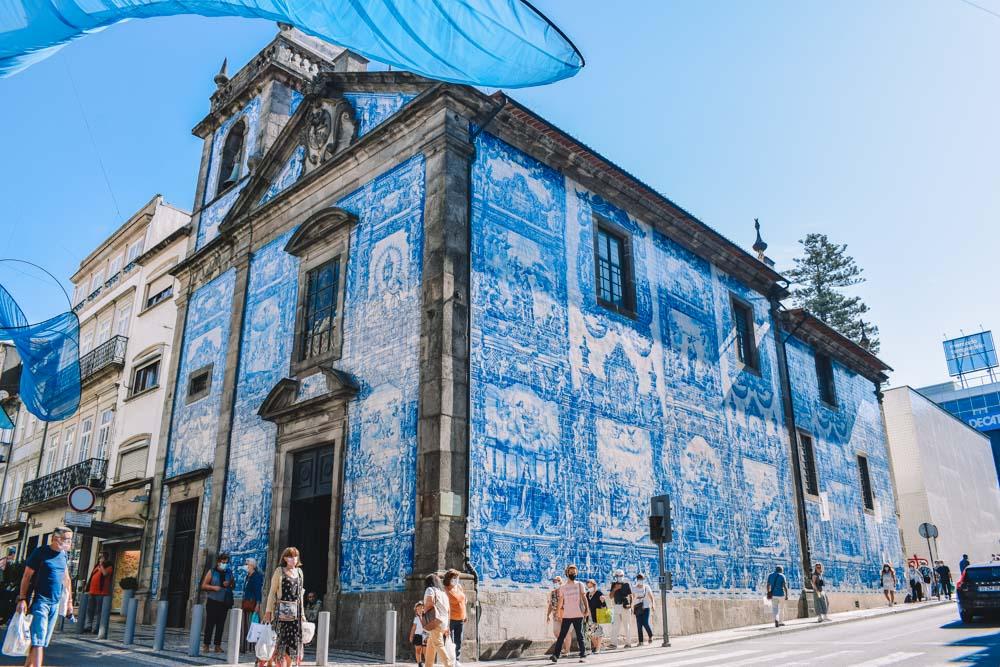 The Chapel of Souls in Porto, Portugal