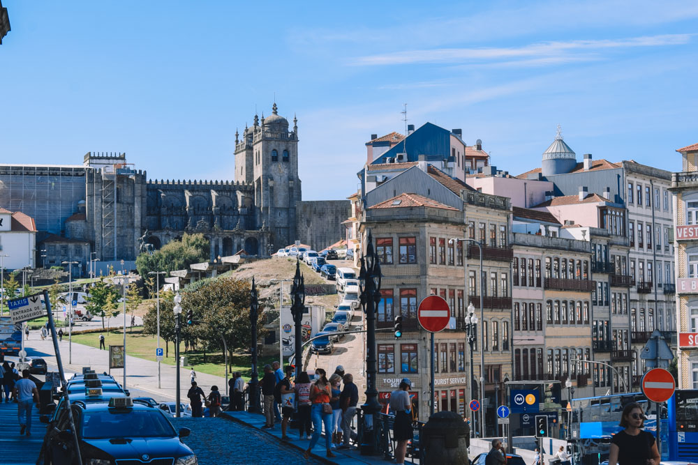 Exploring the streets of Porto, Portugal, in one day