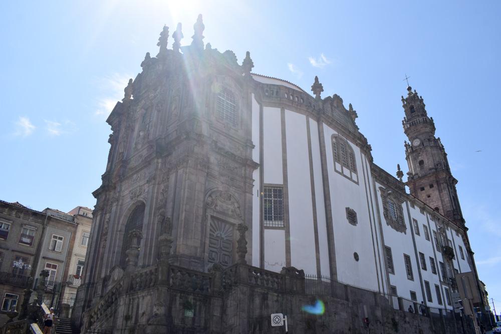 Igreja dos Clerigos in Porto, Portugal