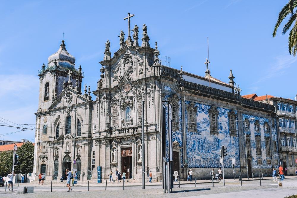 Igreja do Carmo and Igreja dos Carmelitas in Porto, Portugal
