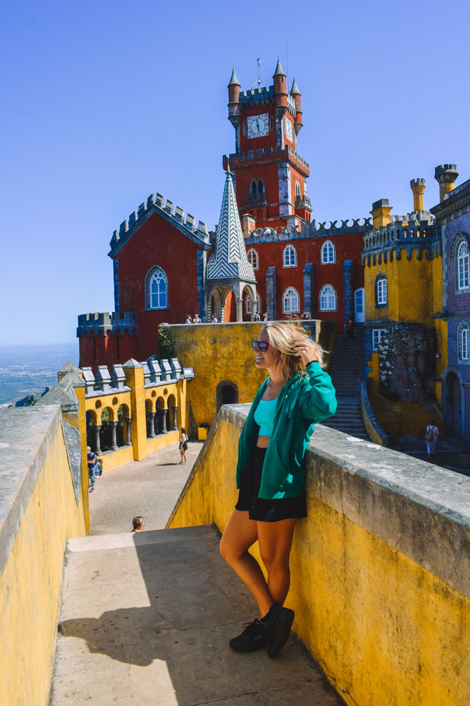 Exploring Pena National Palace in Sintra, Portugal