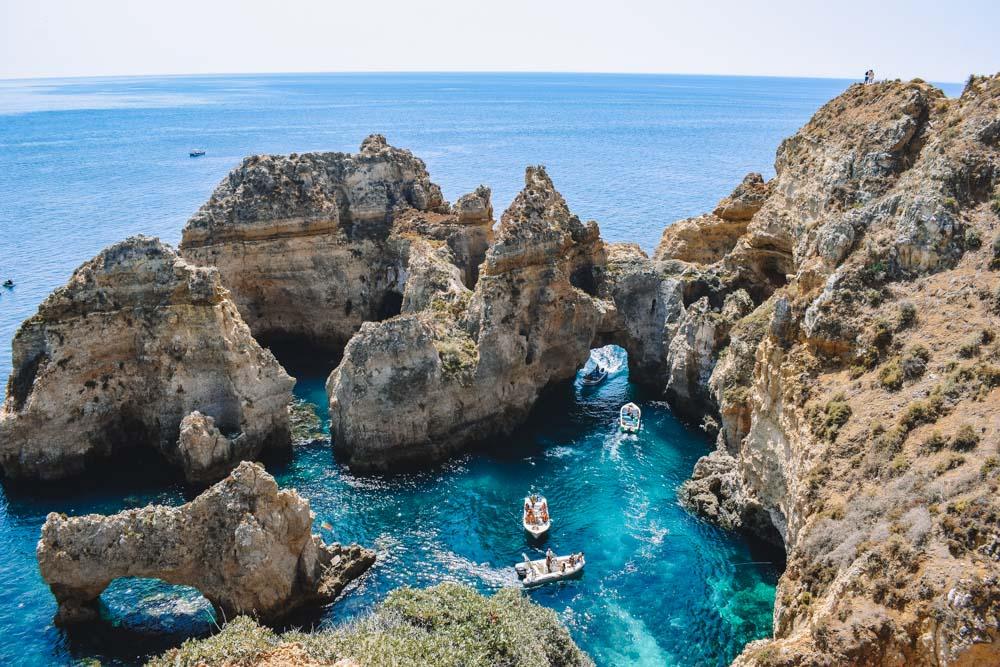 The stunning views of Ponta da Piedade, Portugal