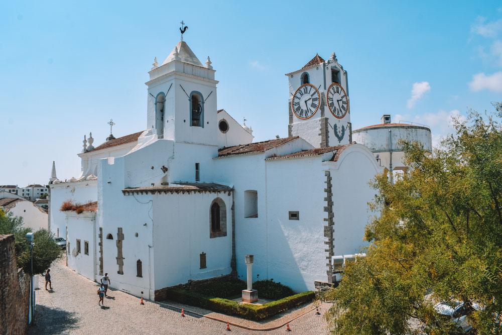 Igreja do Santa Maria do Castelo in Tavira, Portugal