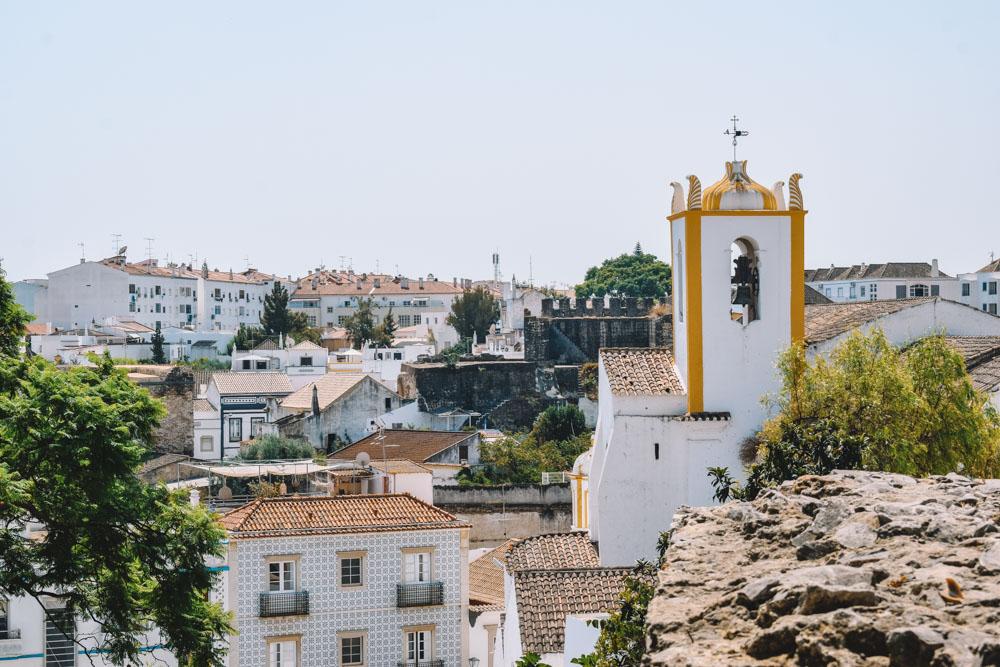 Rooftop views in Tavira, Portugal