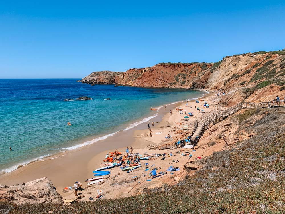 Praia do Amado in Portugal