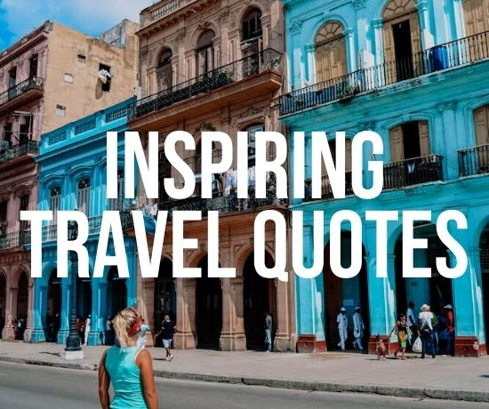 Inspiring travel quotes by Greta's Travels