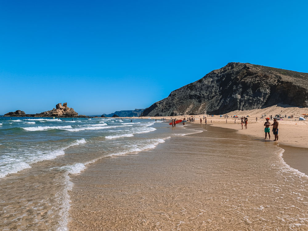 Castelejo Beach in Portugal